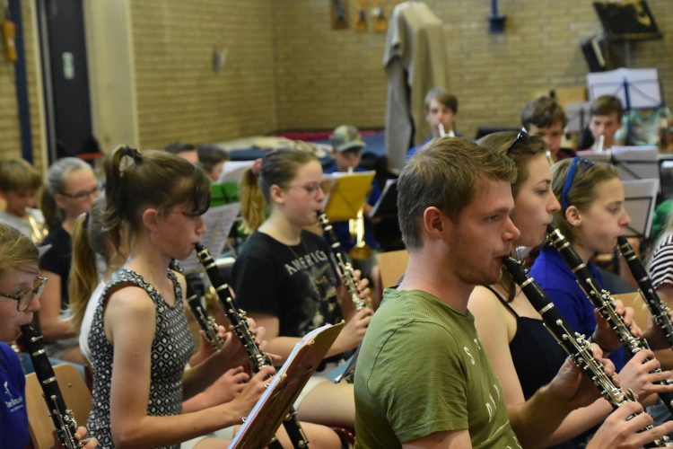 Geslaagde Play-Inn met drie jeugdorkesten 22 juni 2019